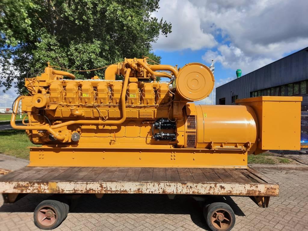 Caterpillar Overhauled - G3516 - 1030kW - 4EK, Electric Power Generator, Construction