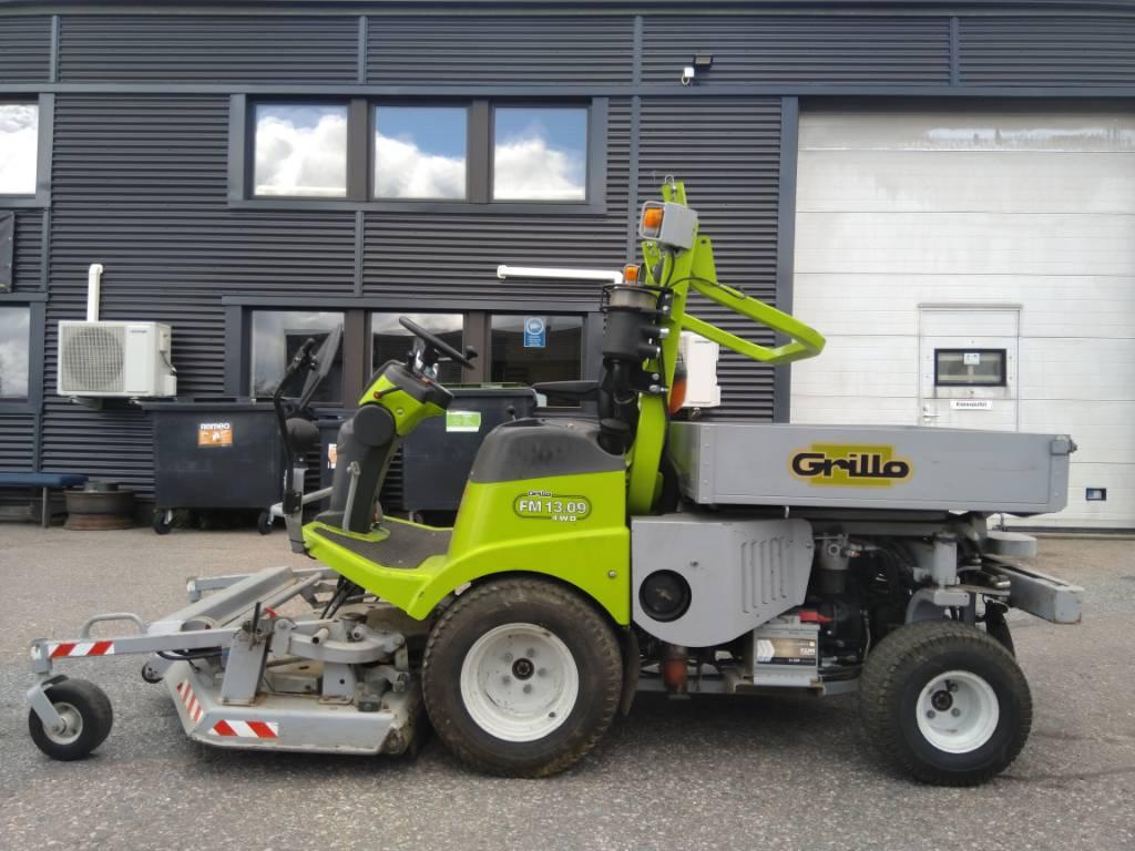 Grillo FM 13.09 4WD, Päältäajettavat ruohonleikkurit, Ympäristökoneet