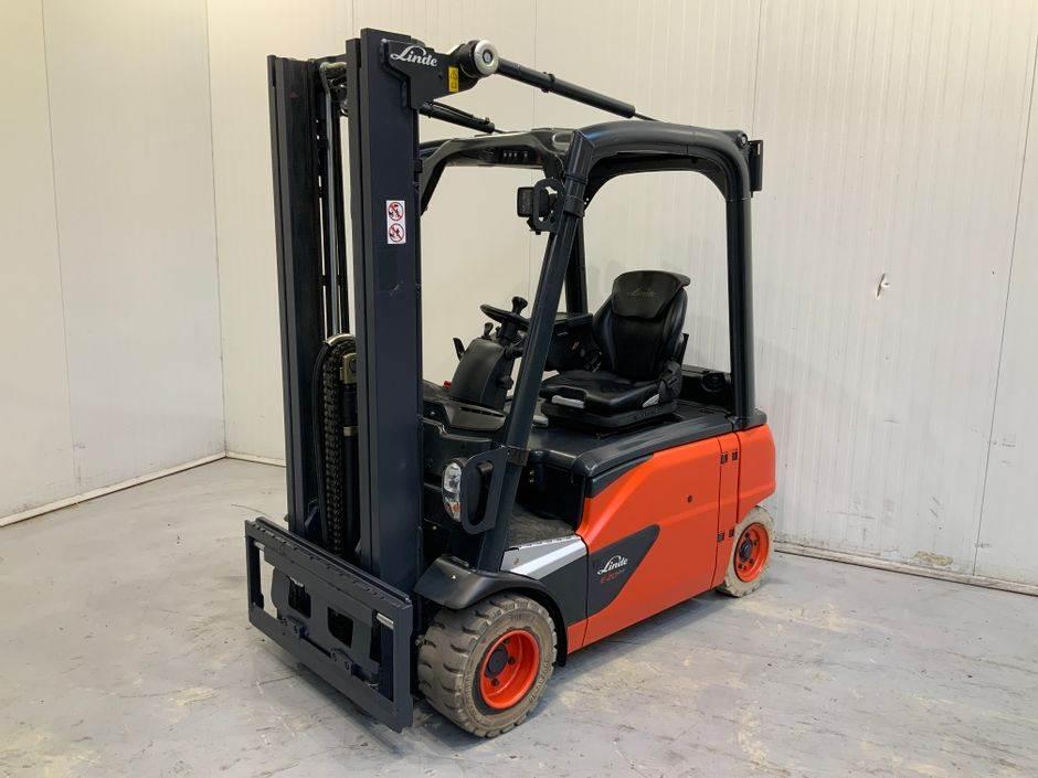 Linde E20 PL 386 Serie, Electric Forklifts, Material Handling