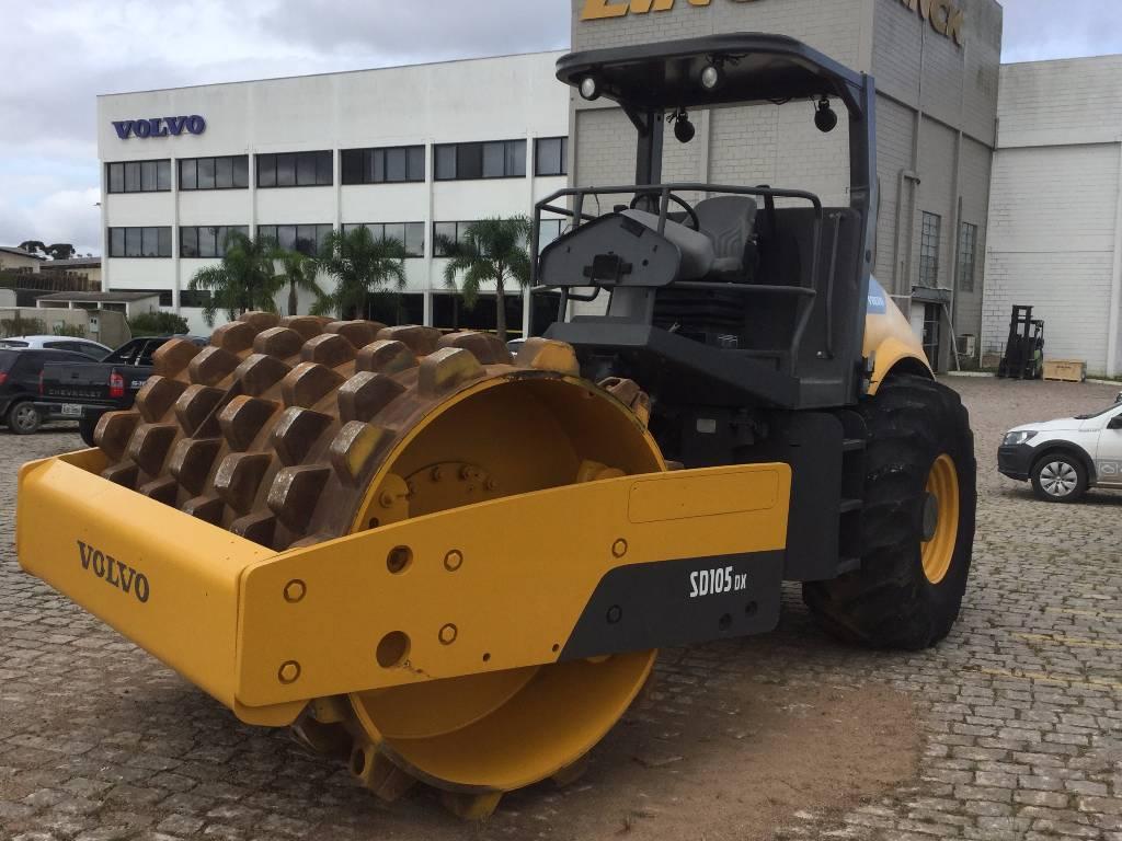 Volvo SD105DX, Soil Compactors, Construction Equipment