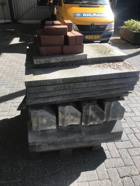 Onbekend Trottoirbanden betonbanden opsluitbanden, Anders, Bouw