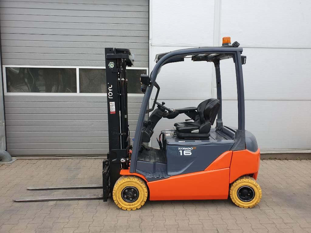 Toyota 8 FB MT 16, Wózki elektryczne, Magazynowanie