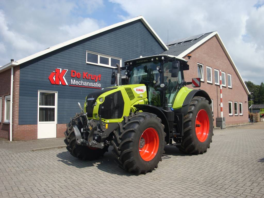 CLAAS Axion 810 C-matic Cebis, Tractors, Agriculture