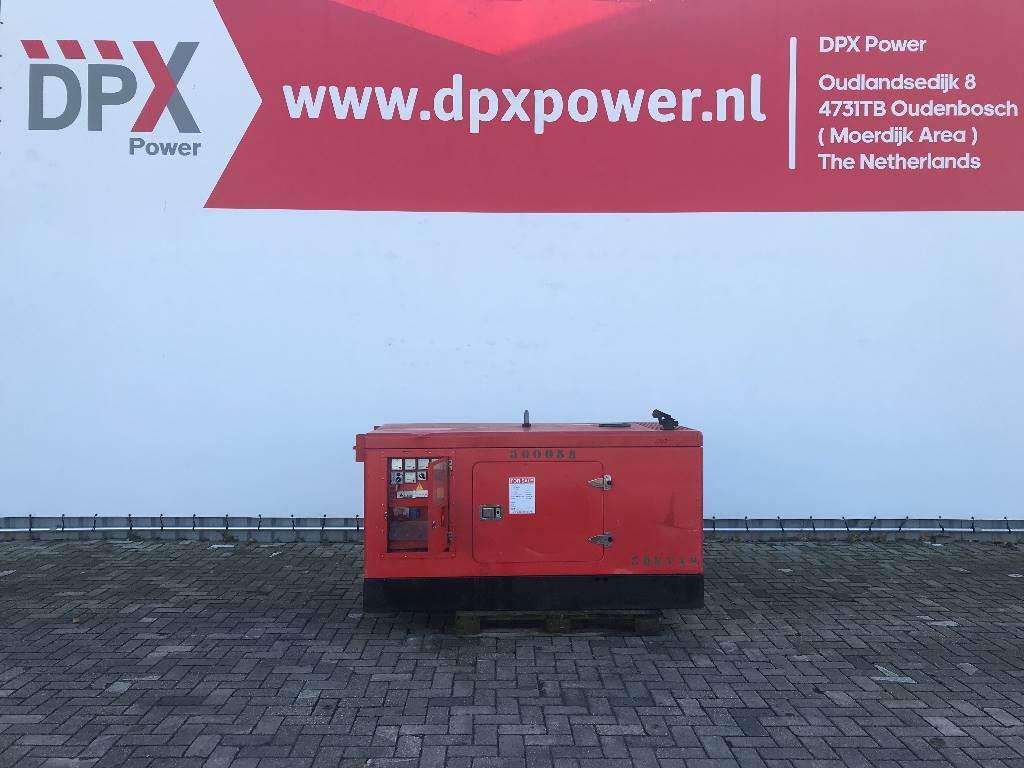 Himoinsa HIW-30 - Iveco - 30 kVA Generator - DPX-12176, Diesel generatoren, Bouw