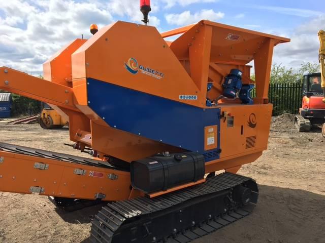 Guidetti C11, Crushers, Construction