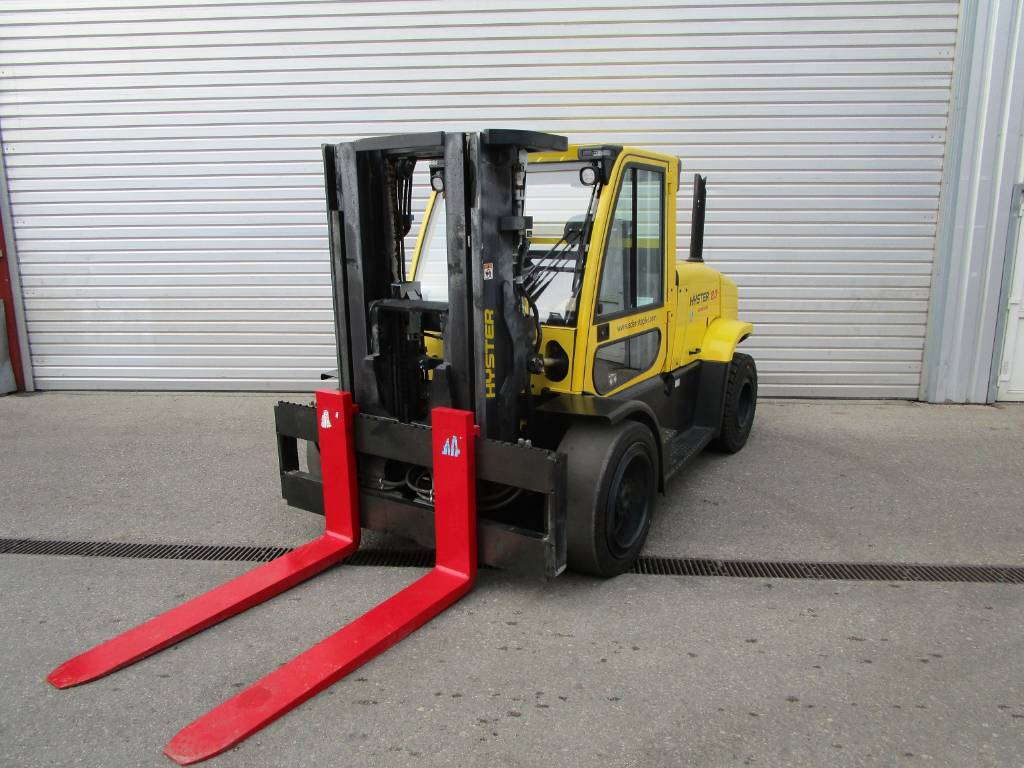 Hyster H 8.0FT-9, Diesel counterbalance Forklifts, Material Handling