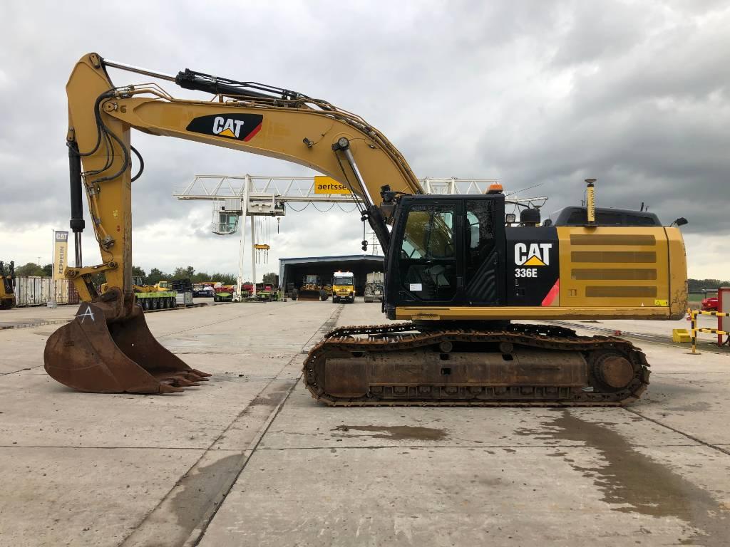 Caterpillar 336 EL, Crawler excavators, Construction