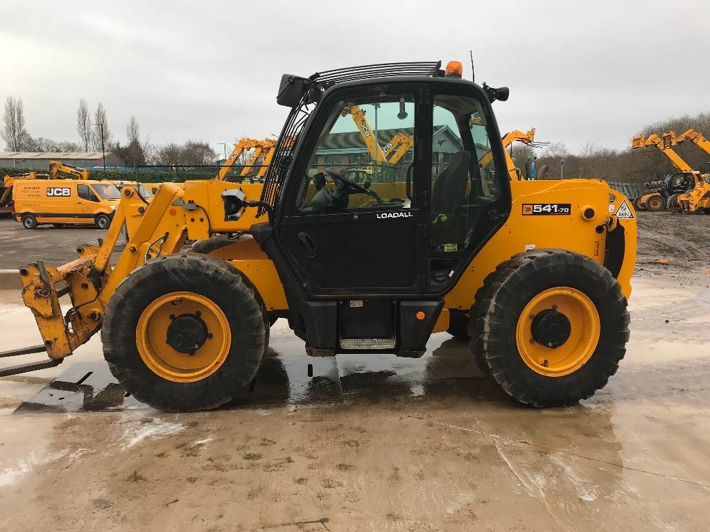 JCB 541-70 Wastemaster, Telescopic handlers, Construction