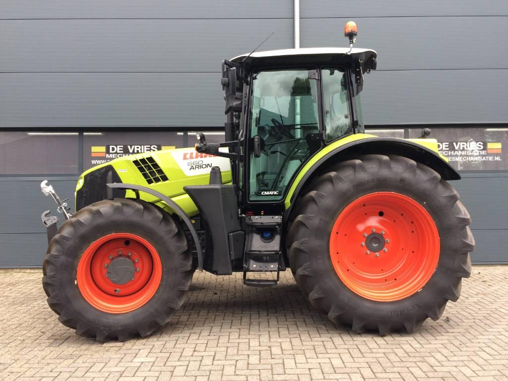 CLAAS Arion 660 CIS+, Tractoren, Landbouw
