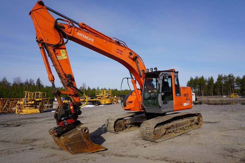 Hitachi Zx225USR, Crawler Excavators, Construction Equipment