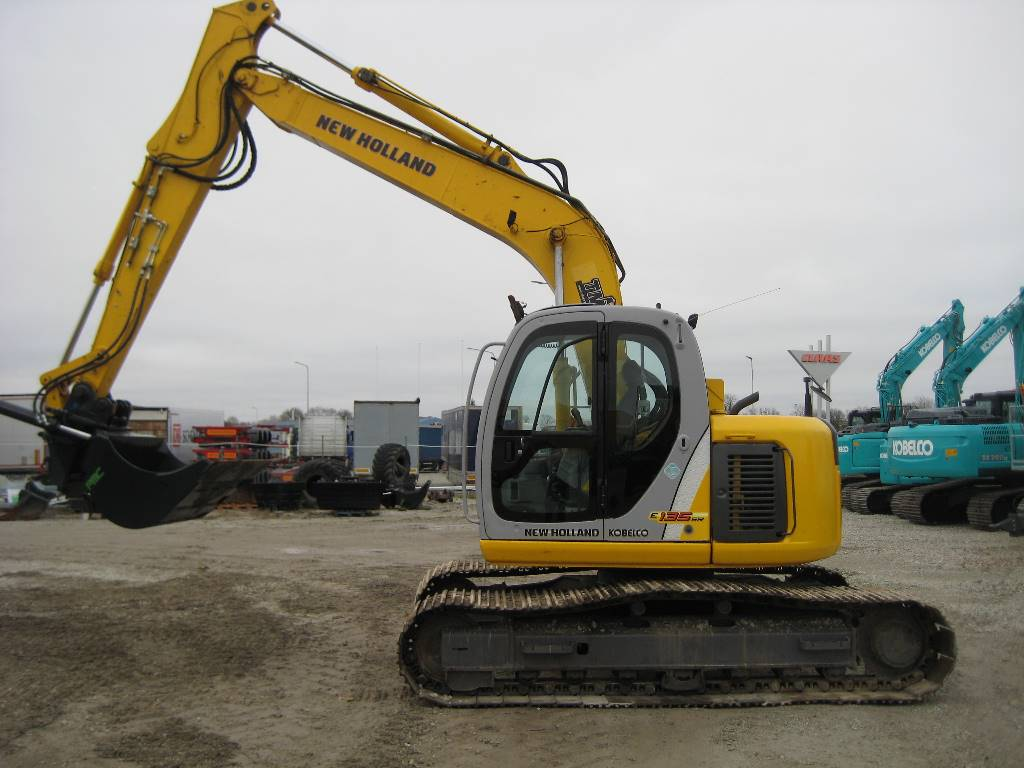 New Holland E 135 SR, Crawler excavators, Construction