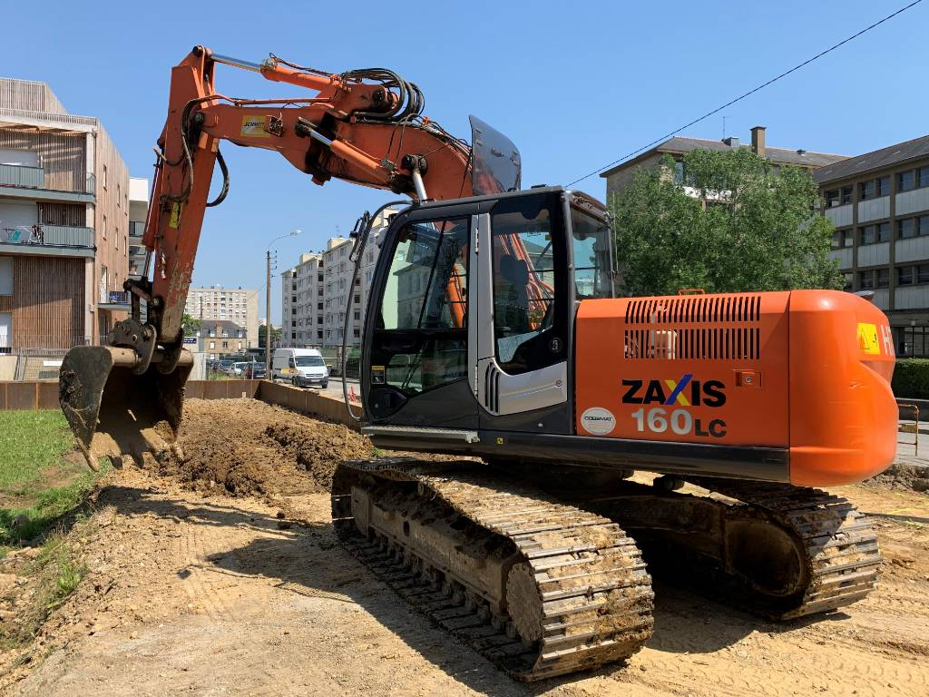 Hitachi ZX 160 LC-3, Crawler Excavators, Construction Equipment