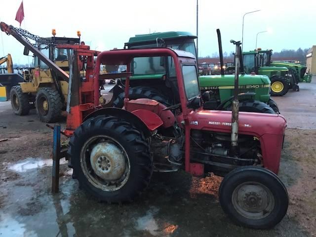 [Other] MF35 MED TIMMER SPEL 4CYL DIESEL, Traktorer, Lantbruk