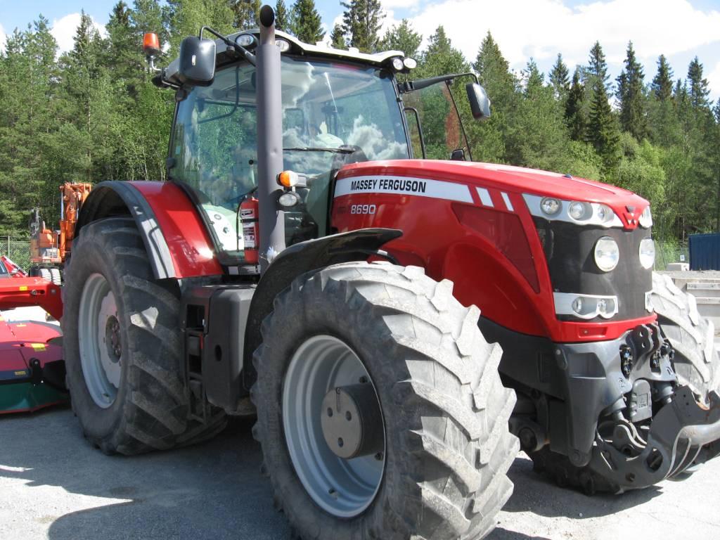 Massey Ferguson 8690 4WD, Traktorer, Lantbruk