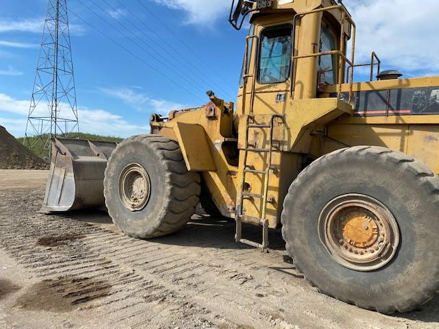 Caterpillar 980 F, Wheel Loaders, Construction Equipment