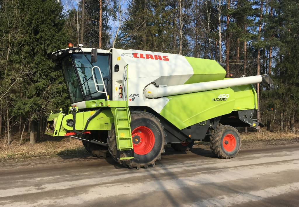 CLAAS Tucano 450, Combine harvesters, Agriculture