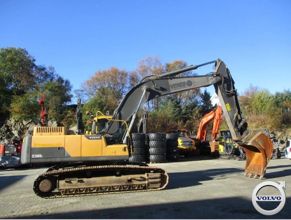 Volvo EC 300 D L, Crawler Excavators, Construction Equipment