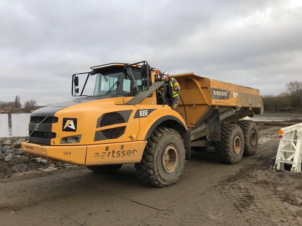 Volvo A 35 F, Articulated Dump Trucks (ADTs), Construction