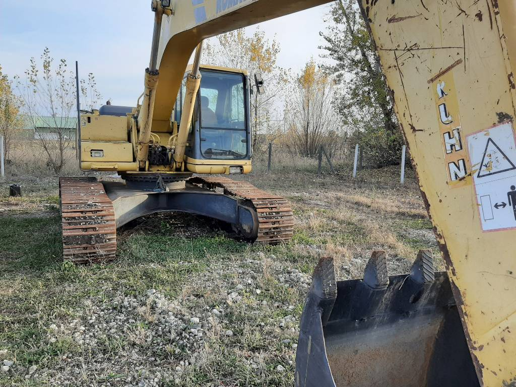 Komatsu PC240LC-6, Crawler excavators, Construction