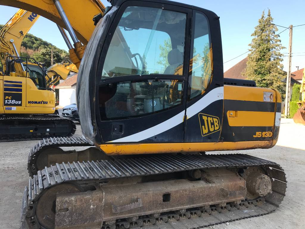 JCB JS130, Crawler Excavators, Construction Equipment