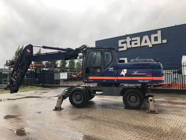 Doosan DX210W, Special excavators, Construction Equipment