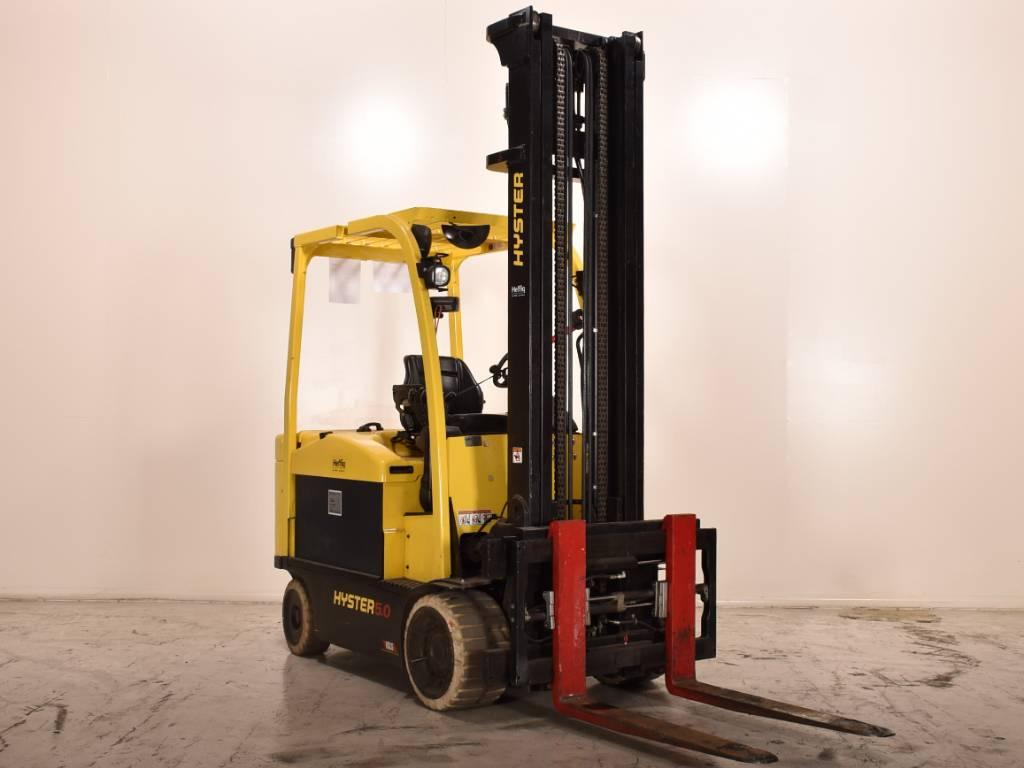 Hyster E5.0XN, Elektrische heftrucks, Laden en lossen