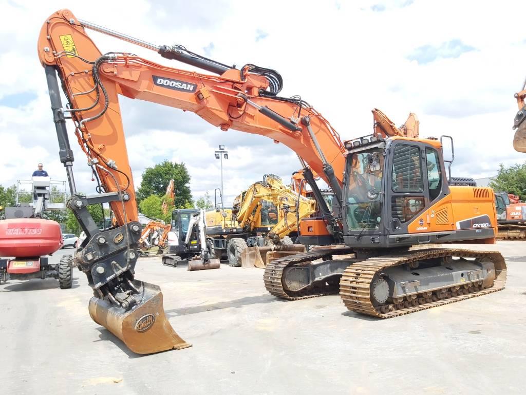 Doosan DX180LC-5, Crawler Excavators, Construction Equipment