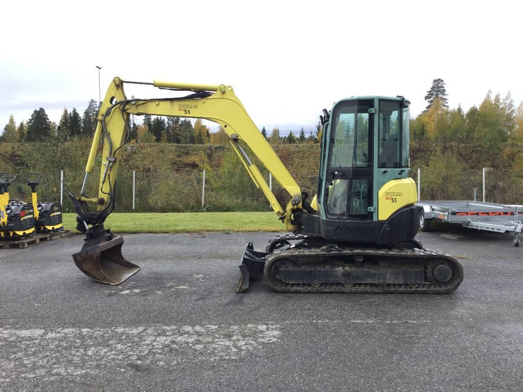 Yanmar Vio55, Mini excavators < 7t (Mini diggers), Construction