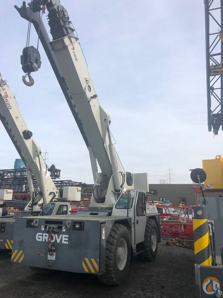Grove YB 7722 XL, Crane Parts and Equipment, Construction Equipment