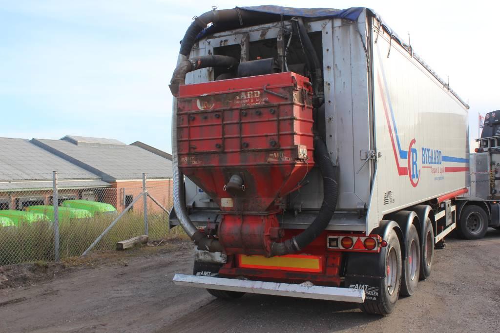 AMT 3 akslet 52m3 tipper med Stenstrup suge/blæs, Semi-trailer med tip, Transport
