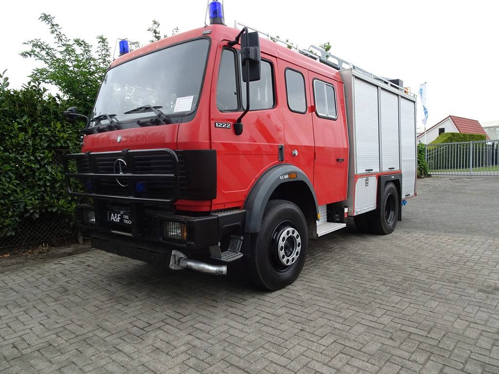Mercedes Benz 1222 Mostard 4x4, Fire trucks, Transportation