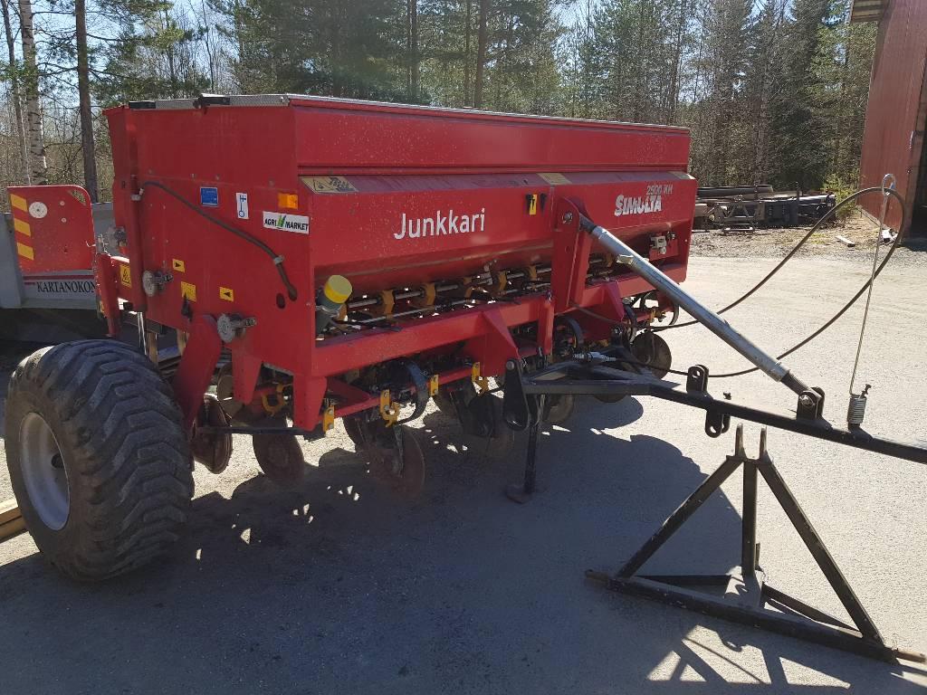 Junkkari KH 2500, Kylvölannoittimet, Maatalous