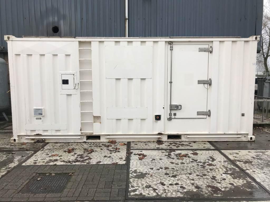 Caterpillar XQ 600 - Generatorset - 3412 - 600 kVa -DPH 105731, Diesel Generators, Construction