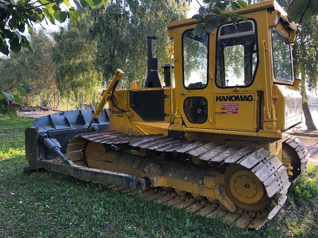 Hanomag D500E, Buldožeri gusjeničari, Građevinarstvo