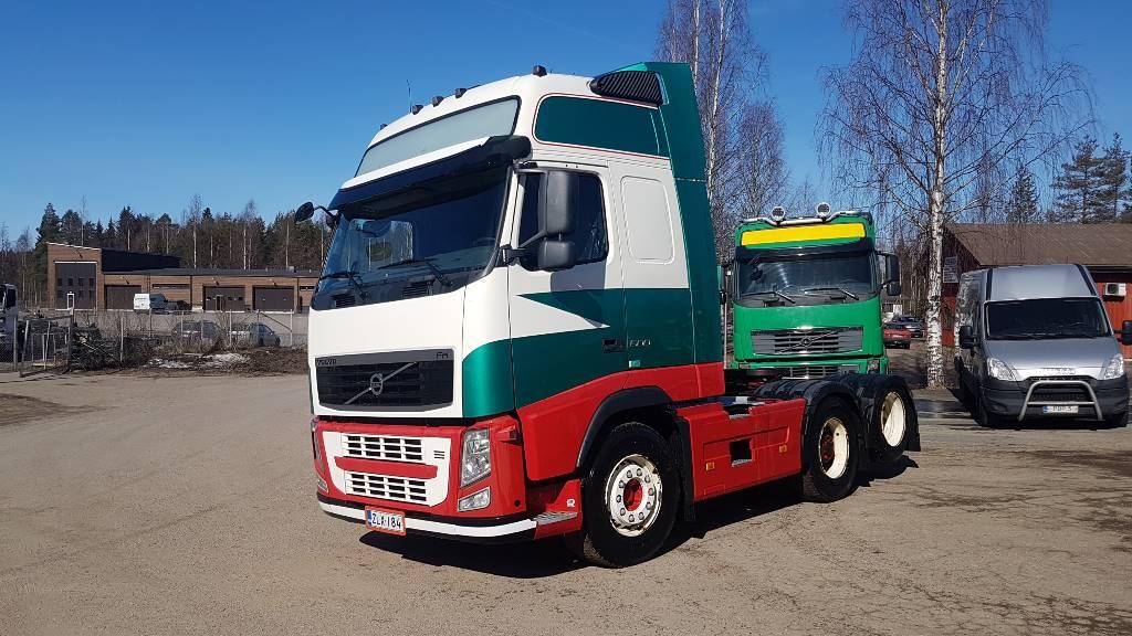 Volvo FH500XL 6x2 WB3000mm hydrauliikalla, Vetopöytäautot, Kuljetuskalusto