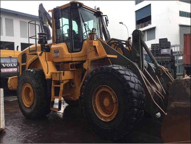 Volvo L150, Wheel loaders, Construction