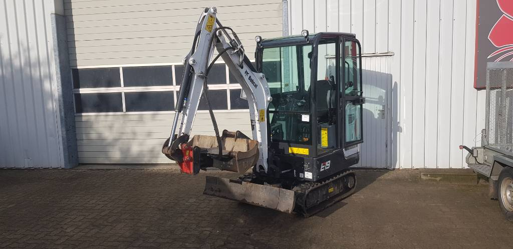 Bobcat E 19, Mini digger, Construction Equipment