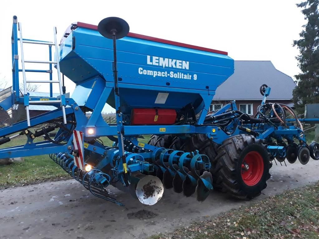 Lemken Compact-Solitair 9, Külvikud, Põllumajandus