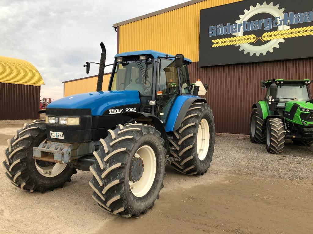 New Holland 8360 RC, Traktorer, Lantbruk