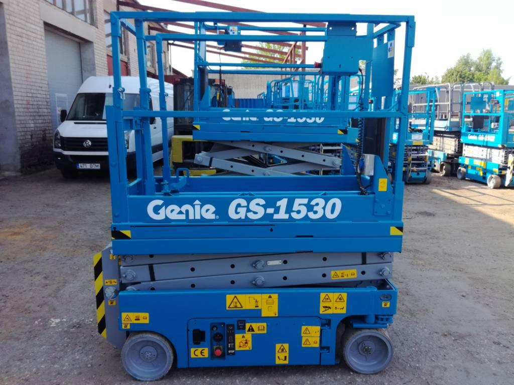 Genie GS 1530, Käärtõstukid, Ehitus