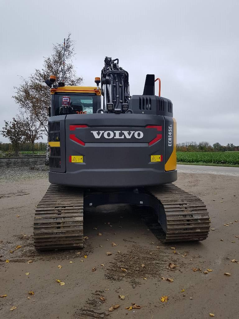 Volvo ECR 145 E, Uthyres, Bandgrävare, Entreprenad