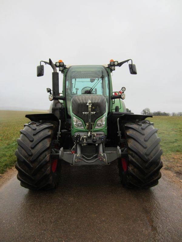 Fendt 722 Profi Plus, Tracteur, Agricole