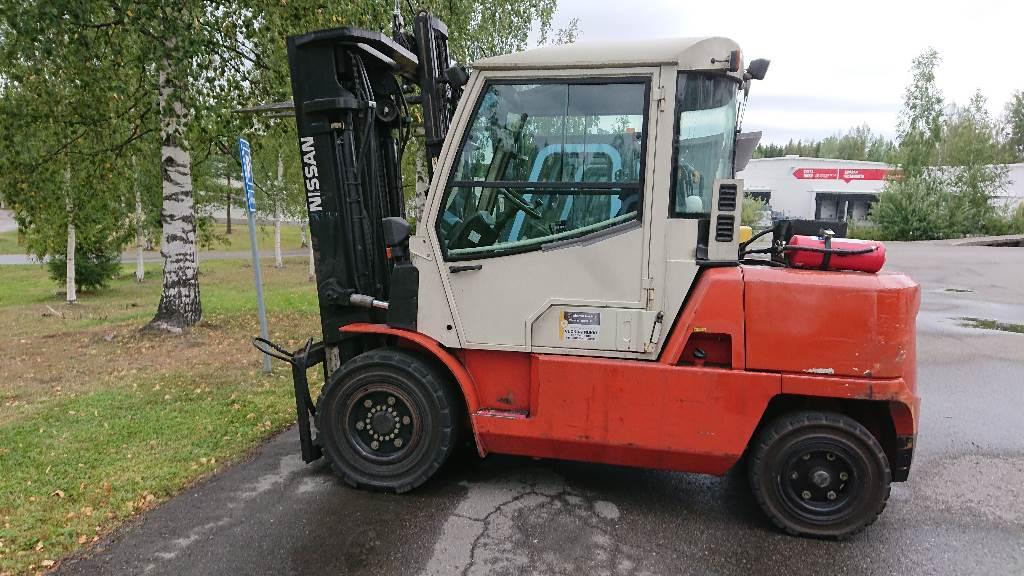 Nissan F04D50Q, Dieseltrukit, Materiaalinkäsittely