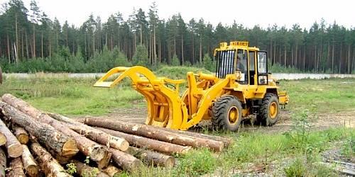 """Amkodor 352L, Ładowarki typu """"knuckleboom"""", Maszyny leśne"""