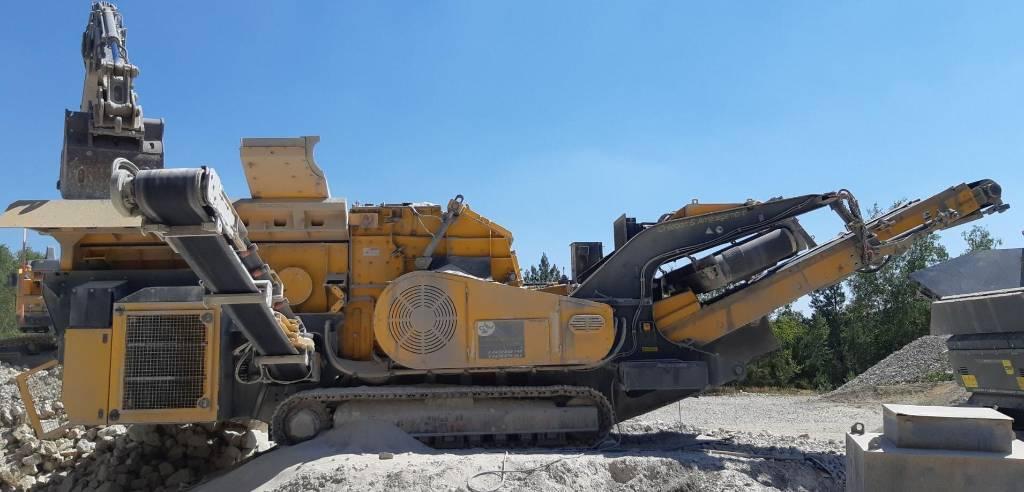 GIPO Giporec R90 FDR Giga, Mobile crushers, Bouw