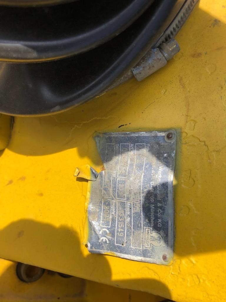 Wacker DPU 4045 Rüttelplatte, Vibrationsgeräte, Baumaschinen