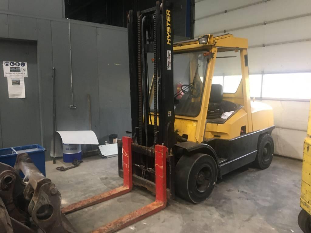 Hyster H5.50XM DIESEL FORKLIFT HEFTRUCK GABELSTAPLER, Diesel Forklifts, Material Handling