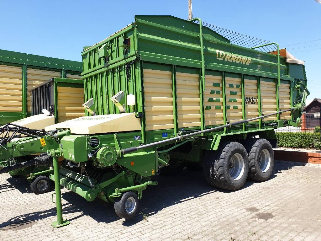 Krone AX 280 GD, Przyczepy samozaładowcze, Maszyny rolnicze