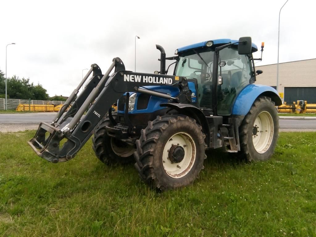 New Holland T6.175 ElectroCommand, Traktorid, Põllumajandus