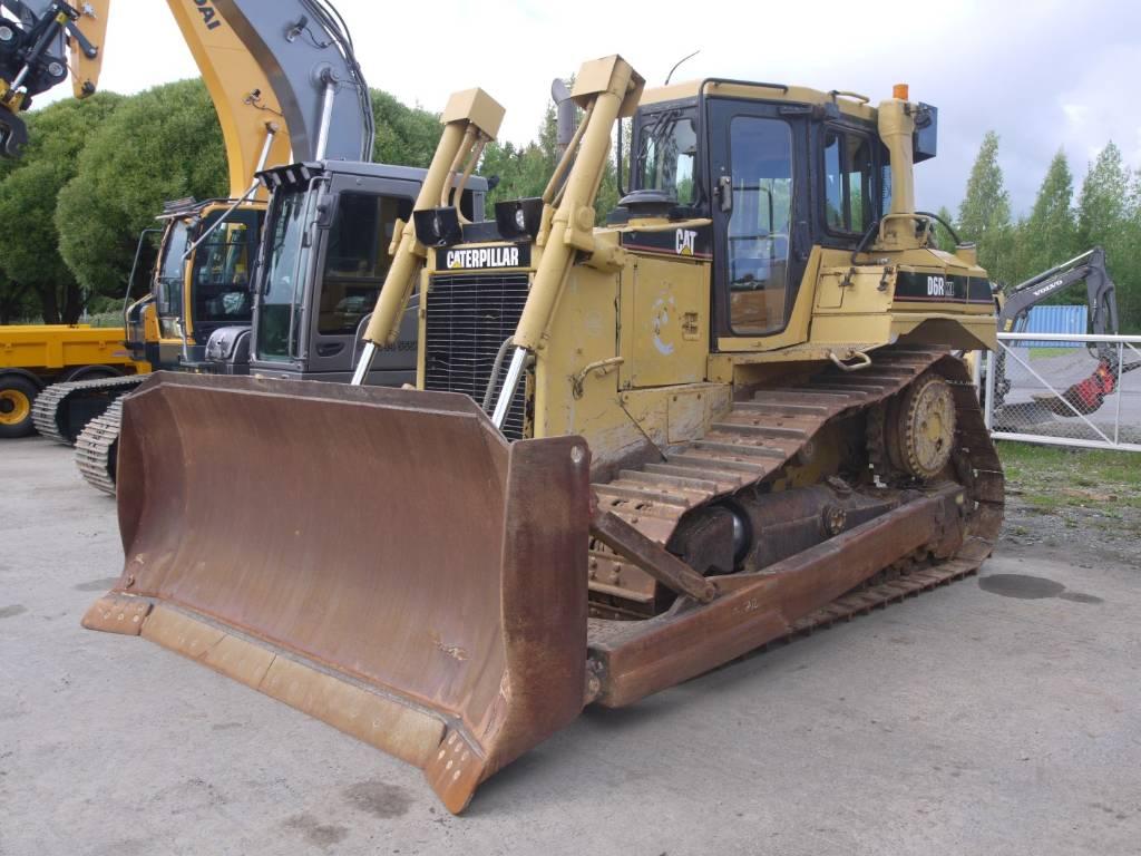 Caterpillar D6R XL, Telaketjupuskutraktorit, Maarakennus